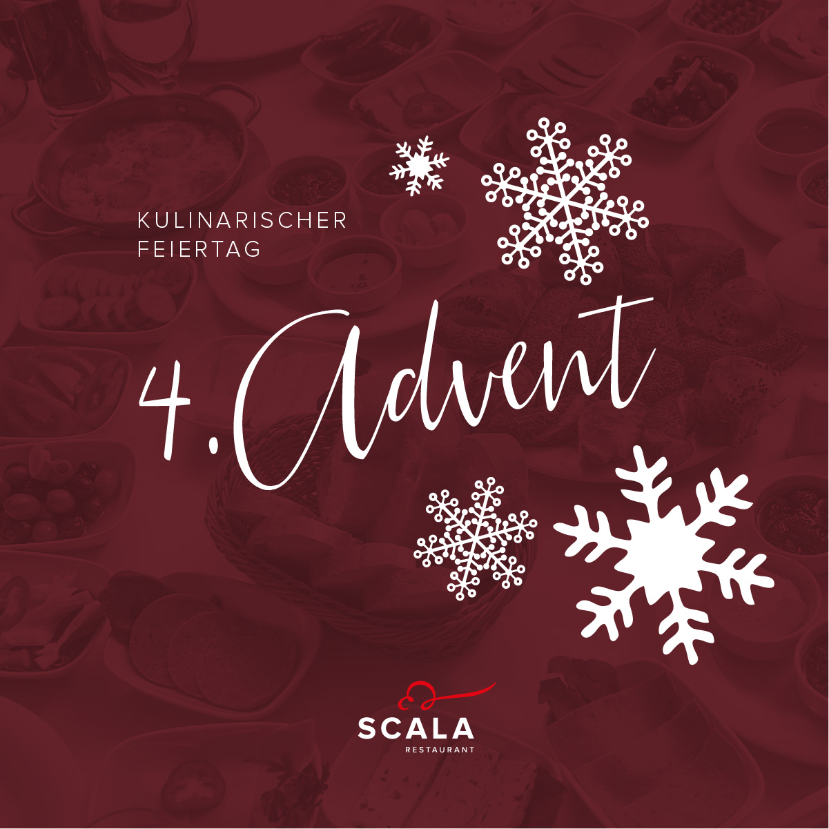 kulinarischer feiertag 4 advent restaurant scala chemnitz. Black Bedroom Furniture Sets. Home Design Ideas